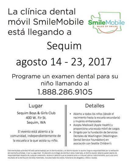 SM Flyer_Sequim_Spanish_2017